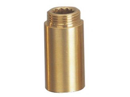 Sapho Predĺženie 1/2'x80mm, mosadz F102-80