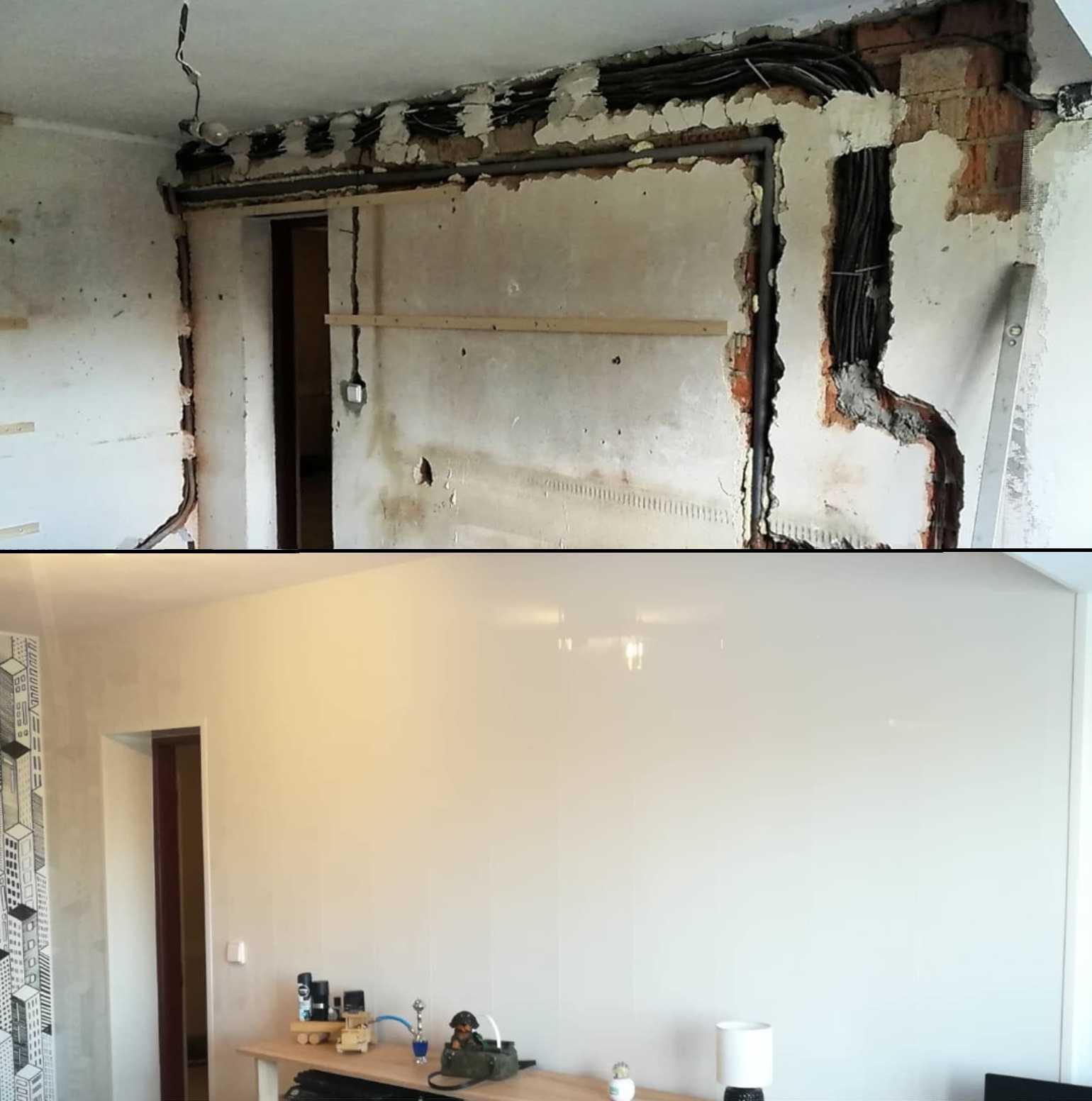 Jak za 9 hodin opravit zdi po rozvodech? Snadno, díky Vilo Motivo!