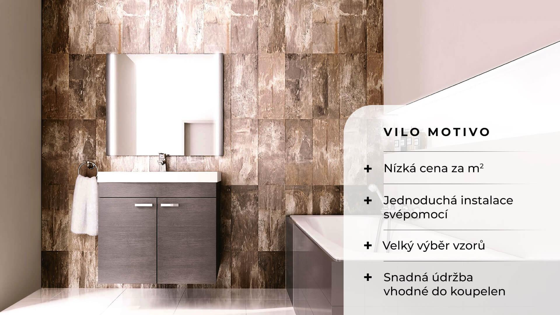 Obkladové panely Vilo Motivo