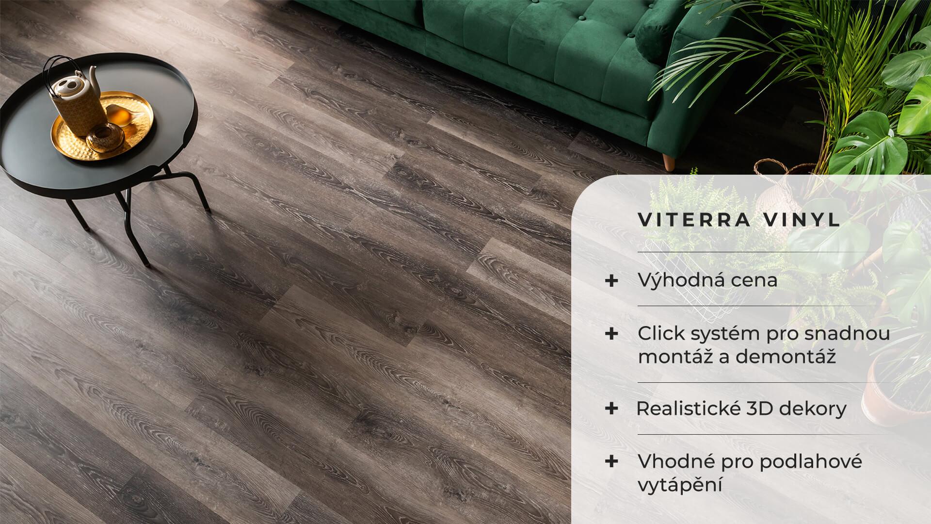 Vinylová podlaha Viterra