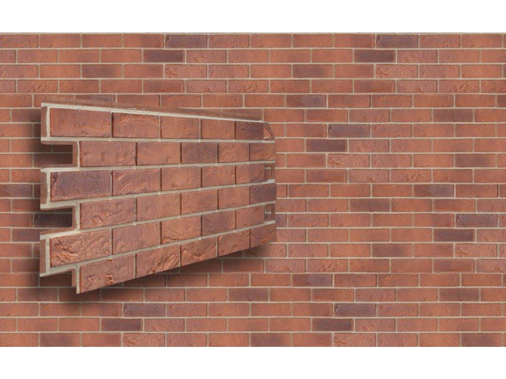 Provětrávaná fasáda solid brick bristol