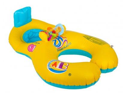 34763 nafukovaci kruh pro miminko a rodice s hrackou kx6792