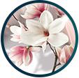 Samolepicí tapeta květinové vzory