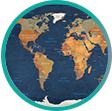 Obrazy mapy světa