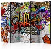 Paraván graffiti