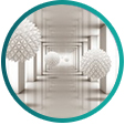 Samolepicí tapety zvětšující interiér