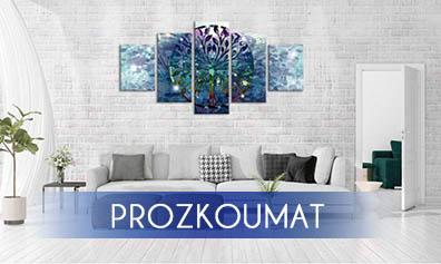 Obraz_abstraktni_strom_blue