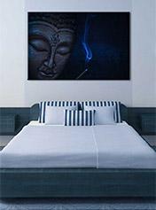 Obraz_tvar-buddha_blue