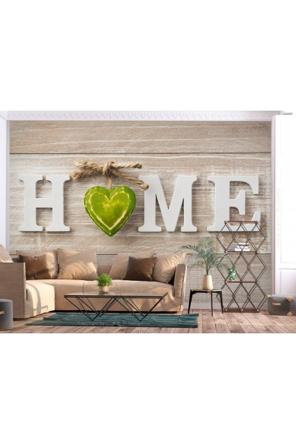 Tapeta Home green