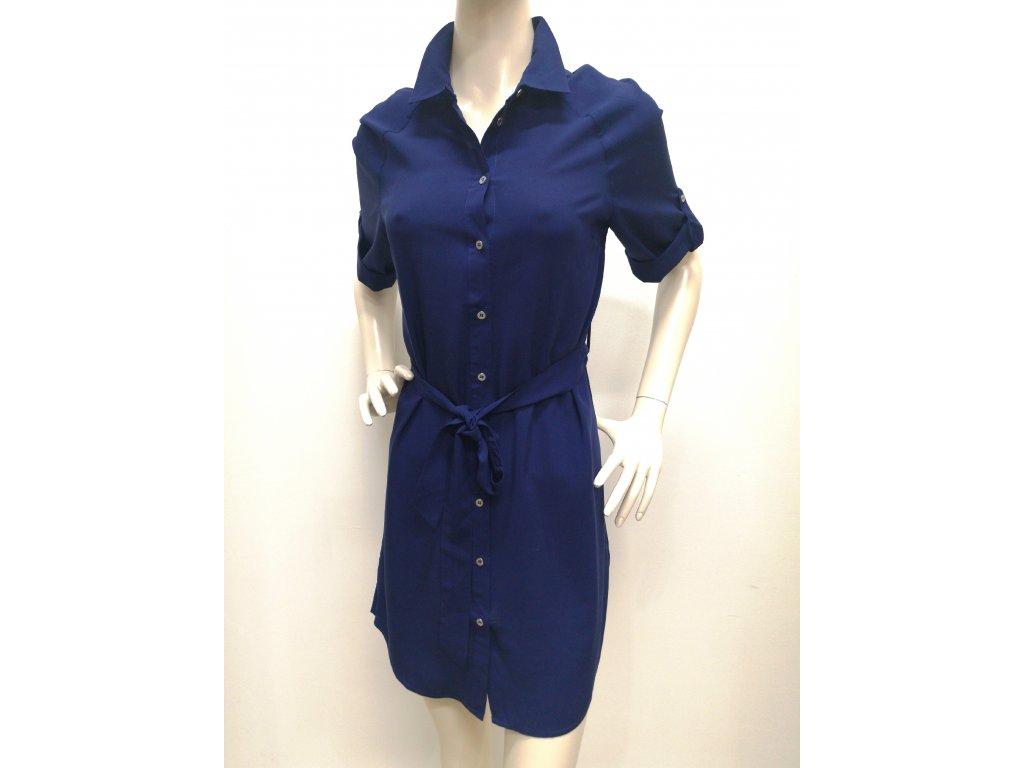 2638bcc679b8 Dámske tmavomodré košeľové šaty BROADWAY NEILA
