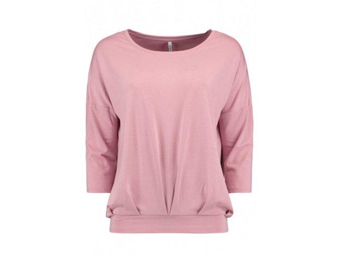 Dámske ružové tričko HLS CARA