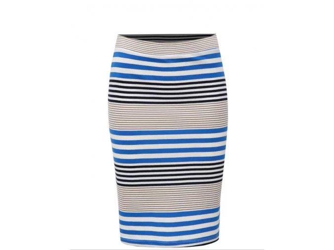 Prúžkovaná sukňa Broadway Francelle