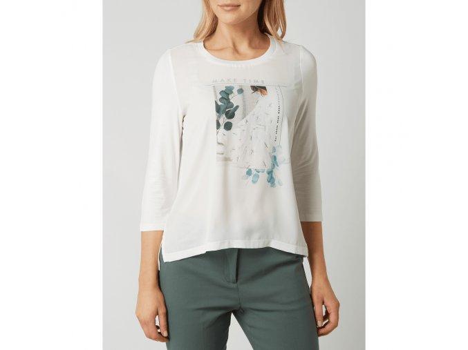 broadway nyc blusenshirt aus satin mit message modell snowwhite offwhite 1264067,c5d54a,1000x1000f