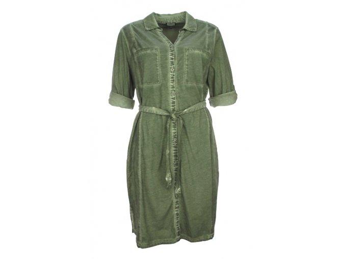 Dámske košeľové šaty KENNY S. AGAVE