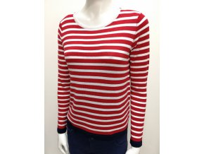Dámsky červený pulóver HLS BETTY