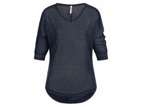 Dámske tmavomodré tričko HLS LISA