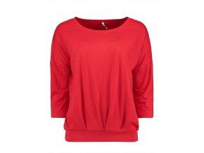 Dámske červené tričko HLS CARA
