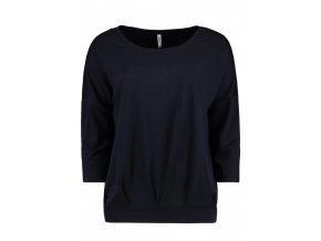 Dámske tmavomodré tričko HLS CARA