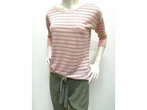 Dámske ružové tričko HLS LUNA