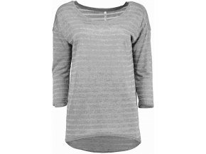Dámske sivé tričko HLS LUNA