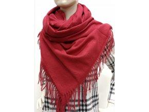 Kašmírový jednofarebný šál