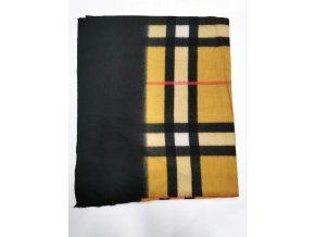 Hrejivý károvaný šál
