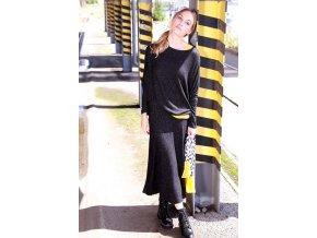 Trendy úpletová sukňa Kenny S. BLACK