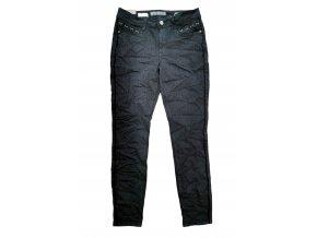 Dámske džínsy BROADWAY LOU s leopardím vzorom