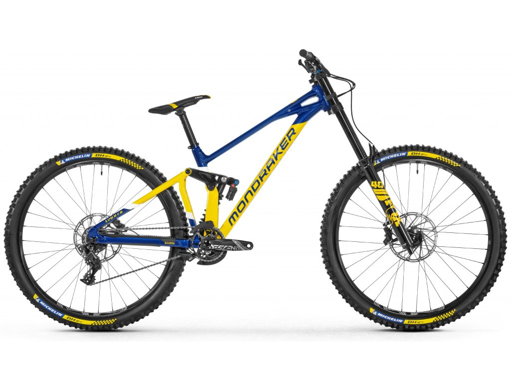 horské kolo MONDRAKER Summum R 29, yellow/blue, 2021