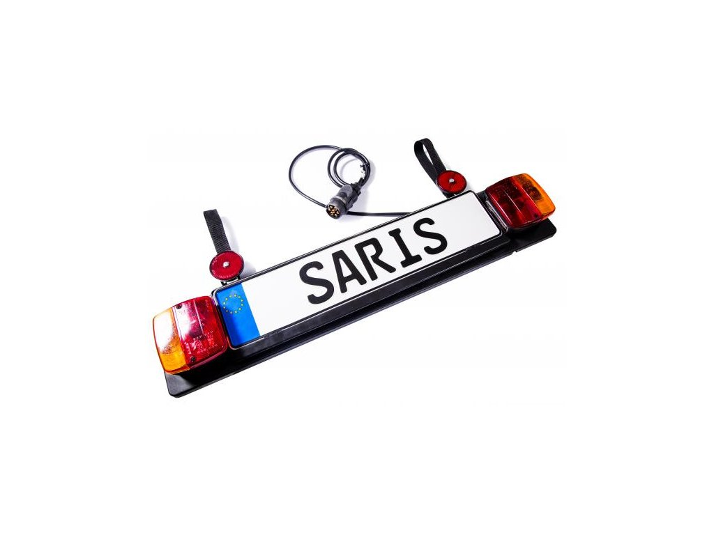 SARIS SPZ s brzdovými světly