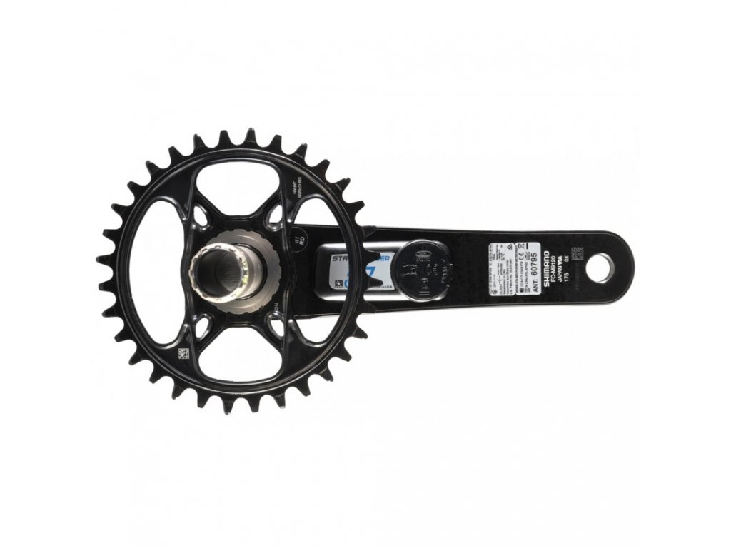 stages xtr m9120 r g3 power meter 32t chainring p351355 578061 image