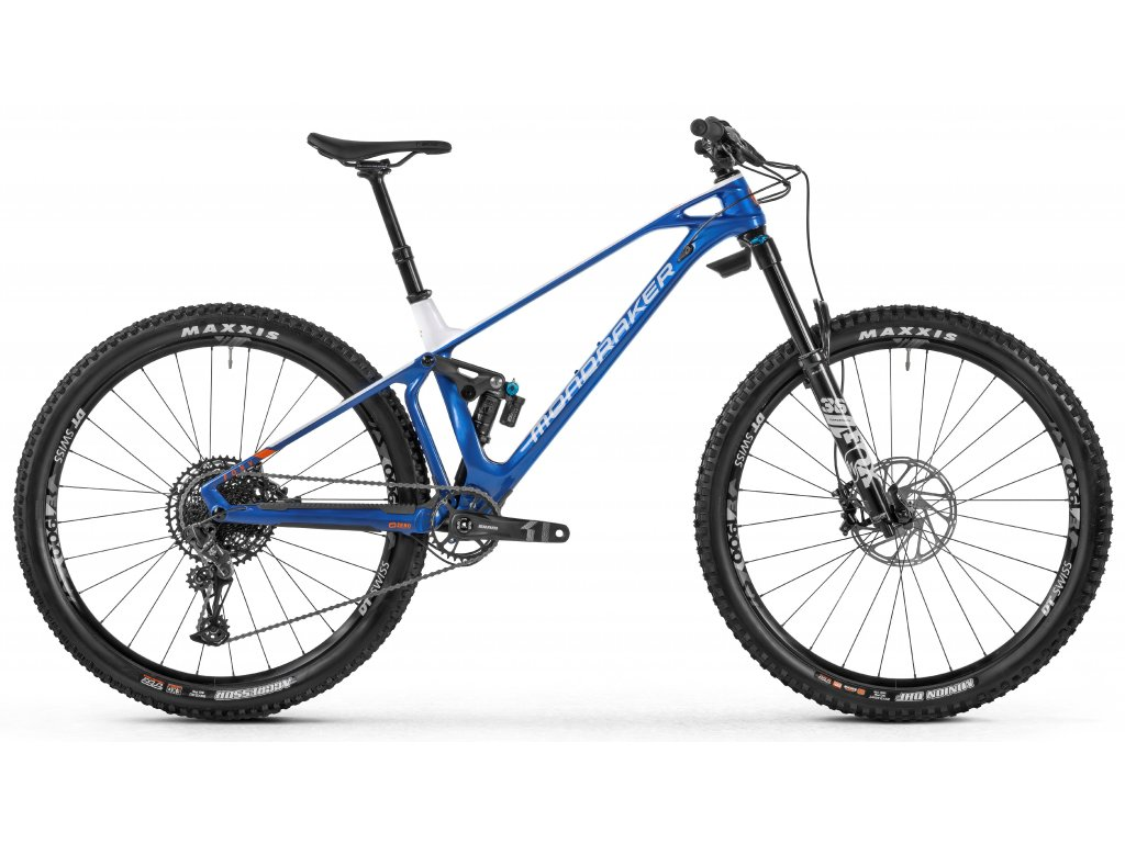 horské kolo MONDRAKER Foxy Carbon R, blue/white/orange, 2021