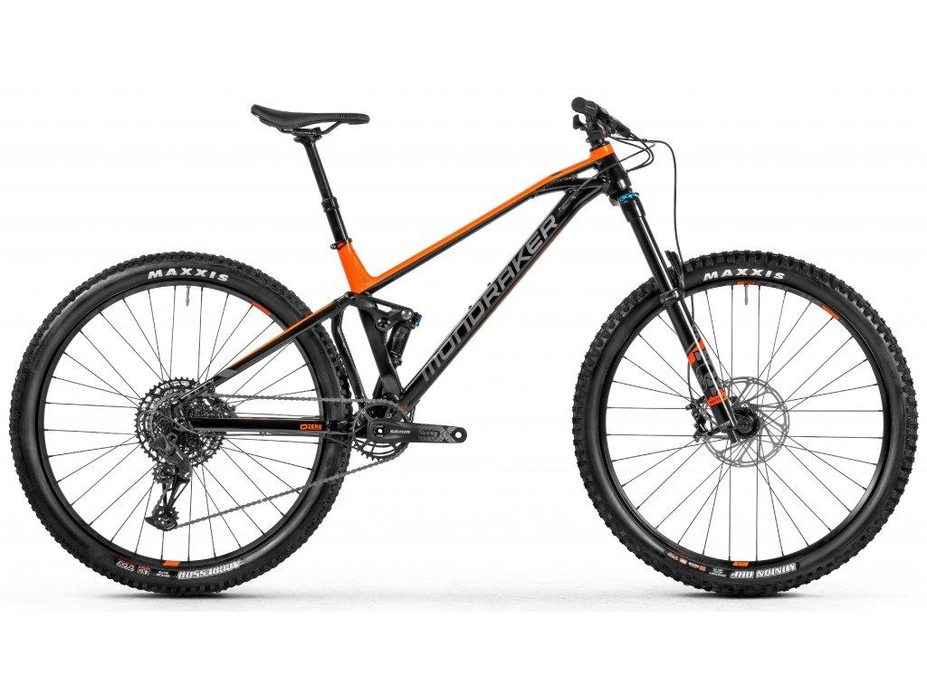 horské kolo MONDRAKER Foxy, black/orange/grey, 2021