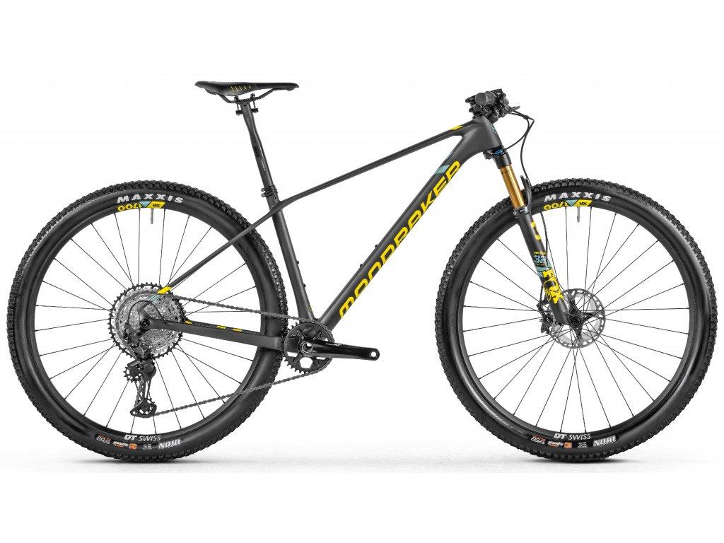 horské kolo MONDRAKER Podium Carbon R, carbon/yellow/green, 2021