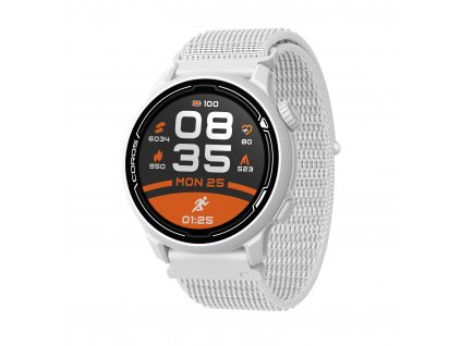 COROS Pace 2 (white, with nylon band) LR