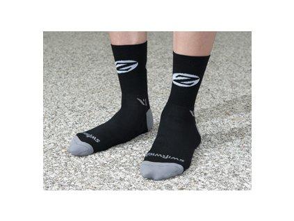 "ZIPP ponožky Merino 5"" wool"