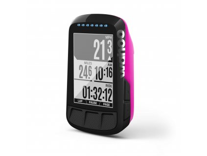 wahoo fitness wahoo elemnt bolt pink gps bicycle c