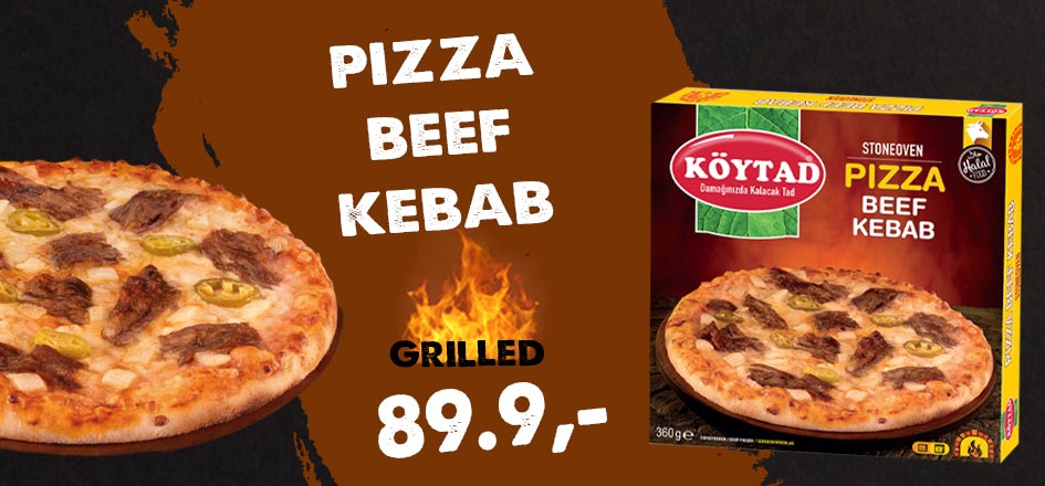 Pizza Beef Kebab 360g