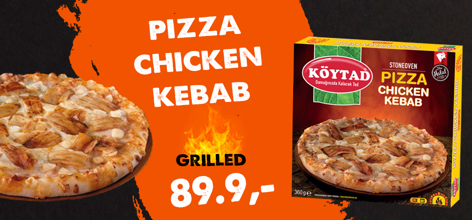Pizza Chicken Kebab 360g