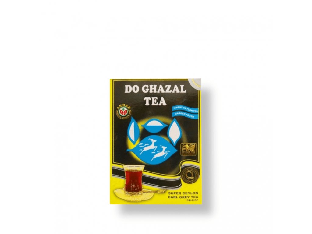 Do Ghazal Čaj cejlonský černý Bergamotem, Sypaný 500g