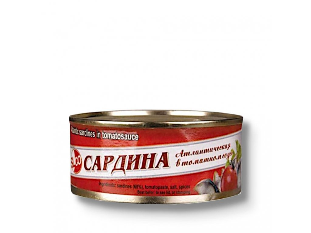 SibFisch Sardinella atlantická v rajčatové omáčce 240g