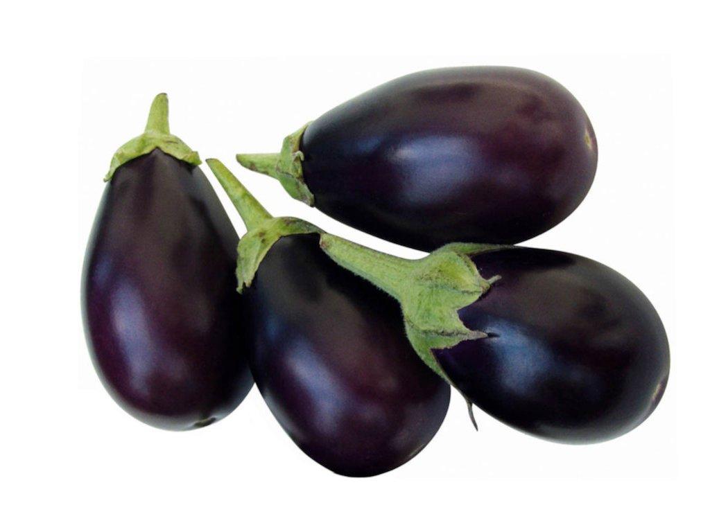 small black eggplant 1kg
