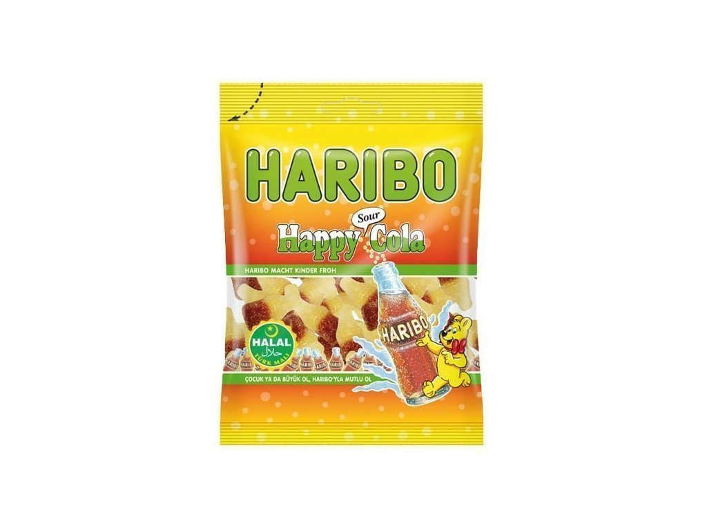 Haribo bonbóny, Happy Cola Sour 100g