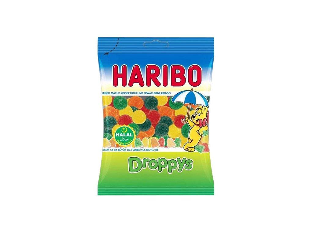 Haribo bonbóny, Droppys 80g