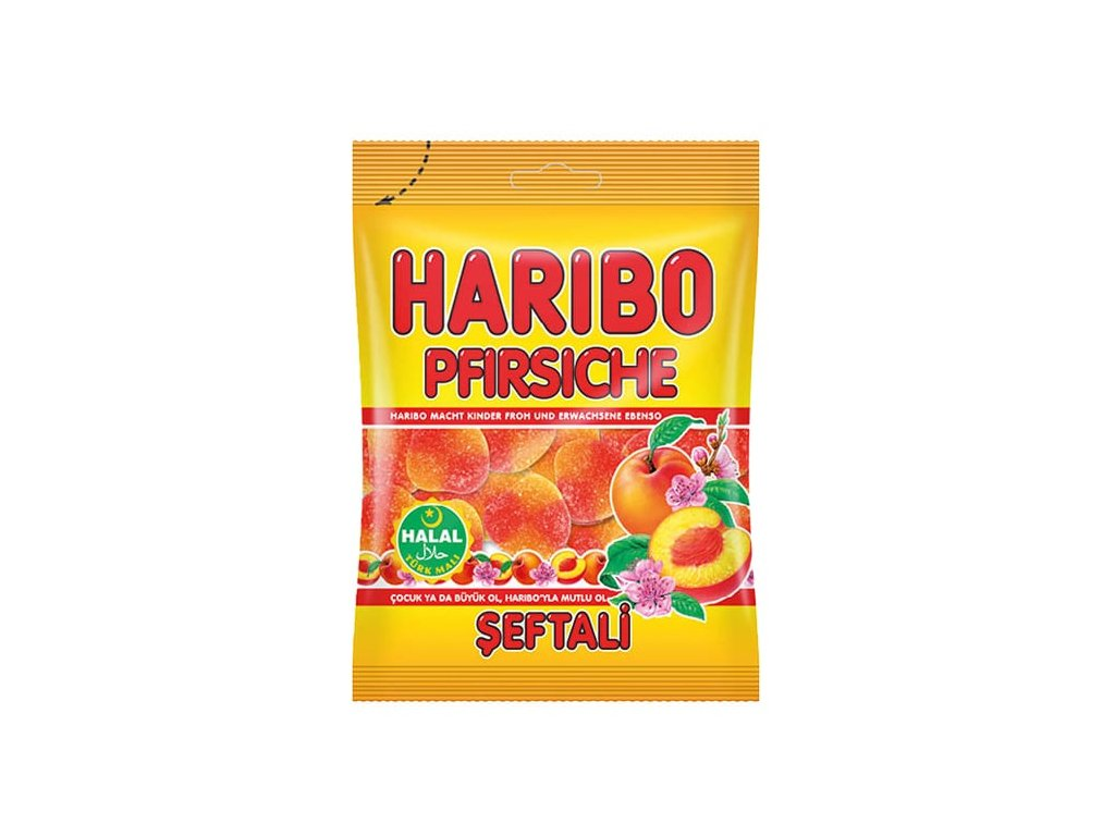 Haribo bonbóny, Pfirsiche 100g