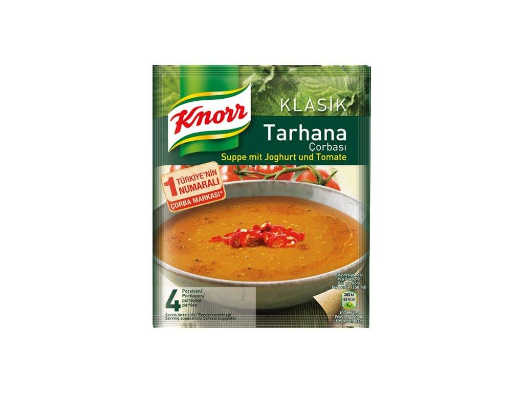 Polévka s jogurtem a rajčaty, Tarhana 74g