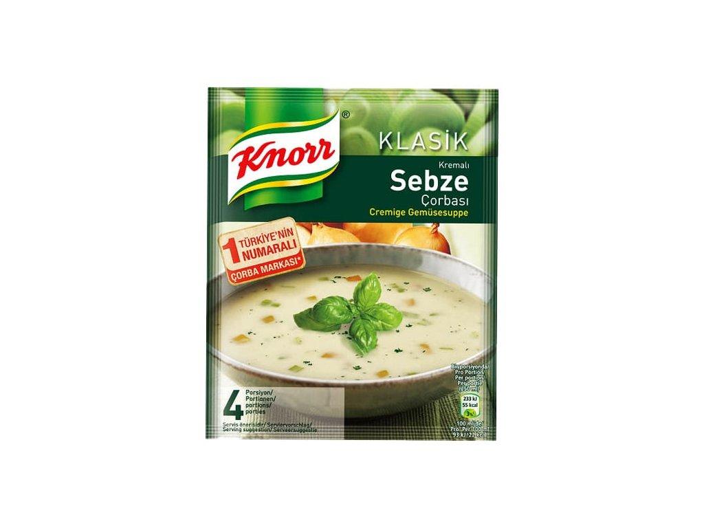 Polévka zeleninová krémová , Sebze 65g