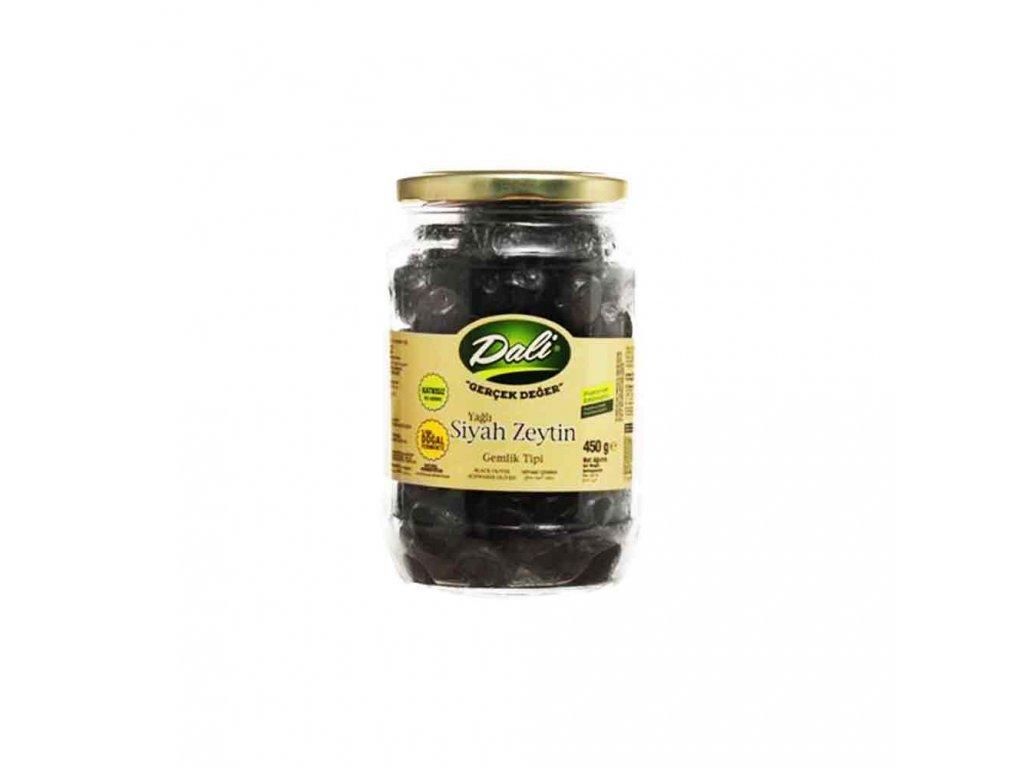 Dali Olivy černé 220g