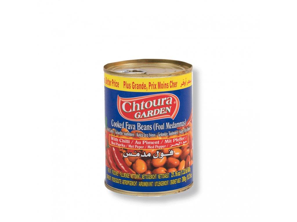 Chtoura Garden Boby konzerva Ostrý recept 400g