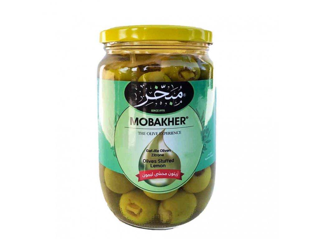Olivy plněné citrónem 1300g